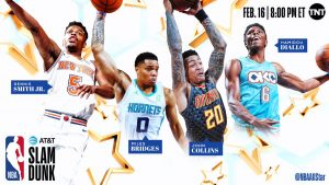 cbaf794306e 2019 NBA ALL STAR SLAM DUNK CONTEST CHARLOTTE