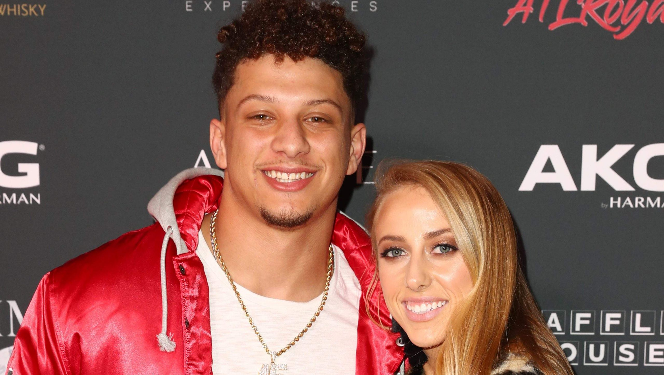 Patrick Mahomes and Brittany Matthews Engaged In Arrowheads Stadium