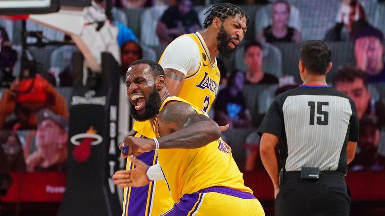 LeBron James and Anthony Davis Achieve Shaq-Kobe Level Victory Recreating History