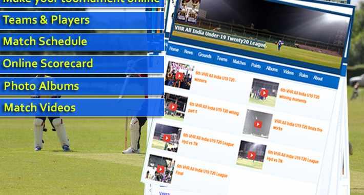 Online Cricket Scoring