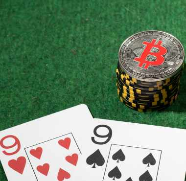 Cryptos replace poker chips
